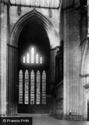 York, Minster, Five Sisters' Window 1893