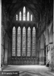 York, Minster, Five Sisters' Window 1911