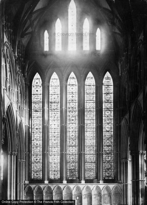 Photo of York, Minster, Five Sisters' Window c.1866