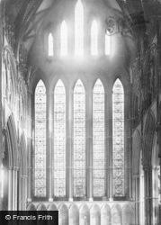 York, Minster, Five Sisters' Window c.1866