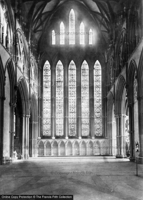 Photo of York, Minster, Five Sisters' Window c.1885