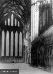 Minster, Five Sisters Window c.1930, York