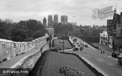 Minster From The City Walls 1951, York