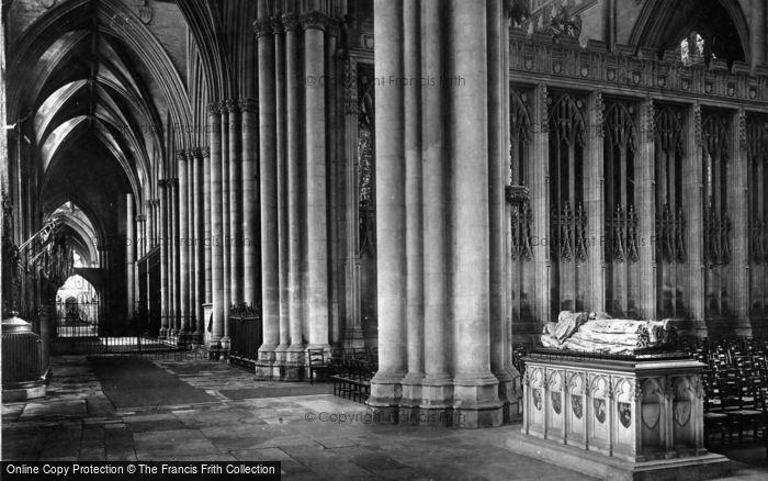 Photo of York, Minster, Lady Chapel 1891