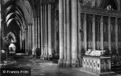 York, Minster, Lady Chapel 1891