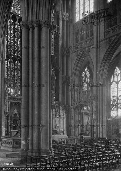 Photo of York, Minster, Lady Chapel 1913