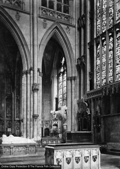 Photo of York, Minster, Lady Chapel c.1873
