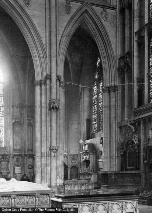 Photo of York, Minster, Lady Chapel c.1880