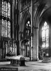 York, Minster, Lady Chapel c.1880