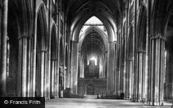 York, Minster, Nave East c.1885