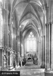 York, Minster, North Choir Aisle c.1880