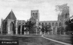 Minster, North Side 1886, York