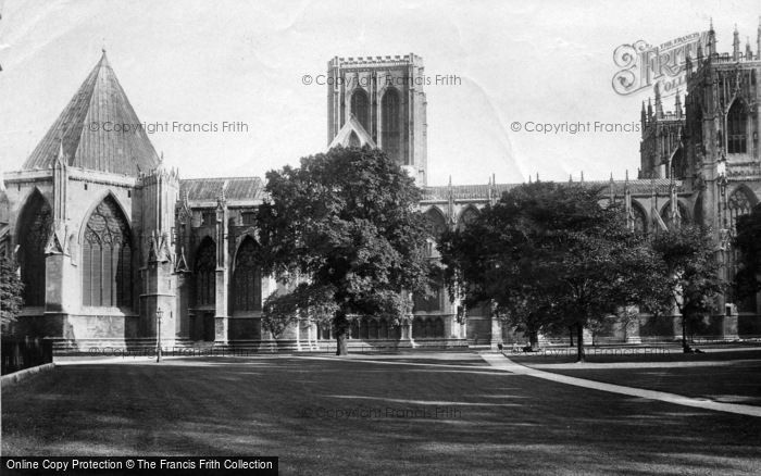 Photo of York, Minster, North Side 1911