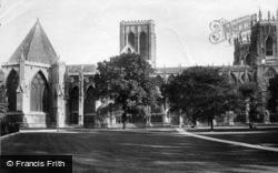 York, Minster, North Side 1911