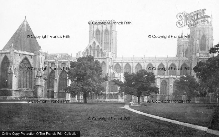 Photo of York, Minster, North Side c.1885