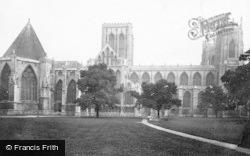 York, Minster, North Side c.1885