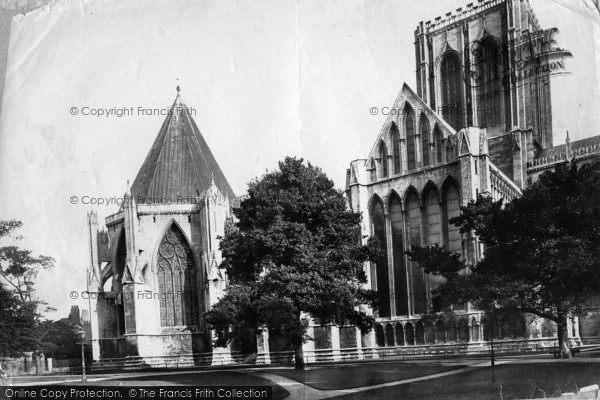 Photo of York, Minster, North Side, Chapter House c.1885