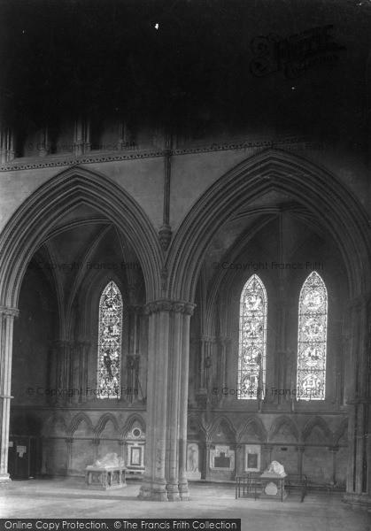 Photo of York, Minster, North Transept 1913