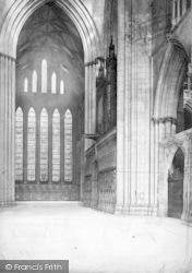 York, Minster, North Transept c.1885