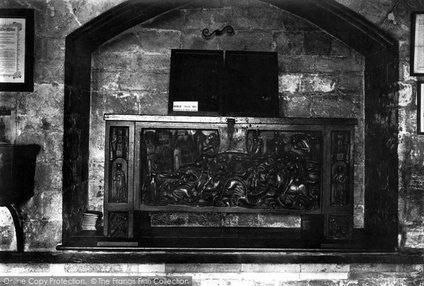 Photo of York, Minster, Old Chest In Treasury 1913