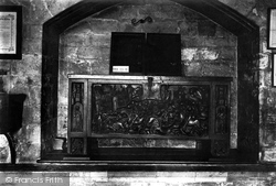 York, Minster, Old Chest In Treasury 1913