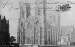 York, Minster, S.W c.1885