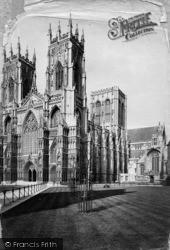 York, Minster S.W c.1885