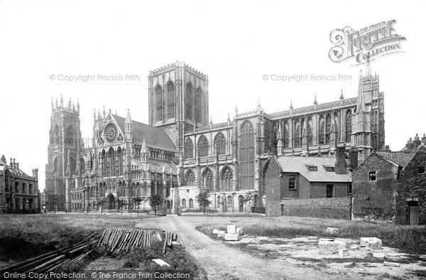 York minster south side 1891