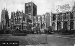 Minster South Side 1897, York