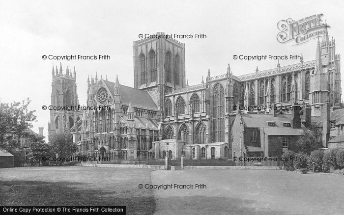 Photo of York, Minster, South Side 1921