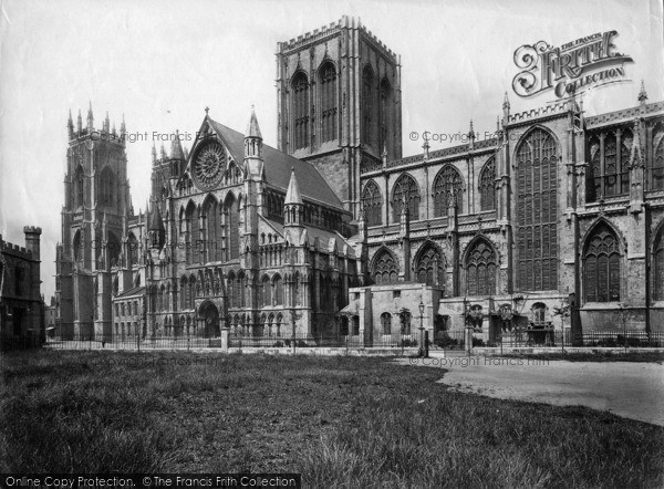 Photo of York, Minster, South Side c.1880