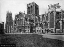 York, Minster, South Side c.1880