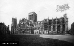 York, Minster, South Side c.1885
