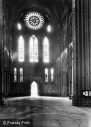 York, Minster, South Transept 1911