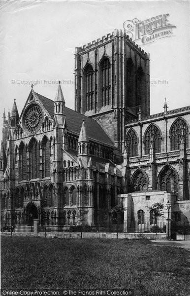 Photo of York, Minster South Transept c.1885