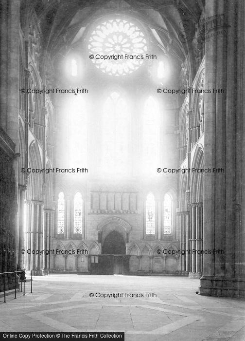 Photo of York, Minster, South Transept c.1885