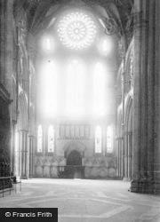 York, Minster, South Transept c.1885