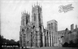 Minster, South West c.1886, York
