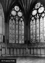 York, Minster, The Chapter House c.1880