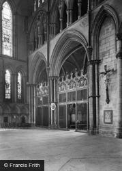 York, Minster, The 'west Yorks' Memorial Chapel 1925