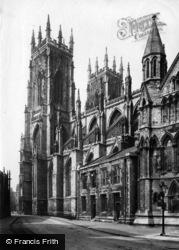 York, Minster, Towers 1907