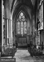 York, Minster, Wellington's Chapel 1925