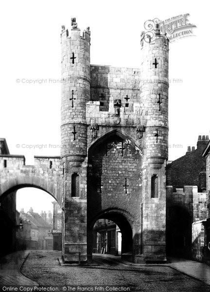 Photo of York, Monk Bar c.1885
