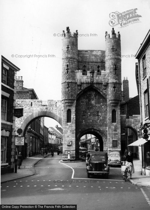 Photo of York, Monk Bar c.1960