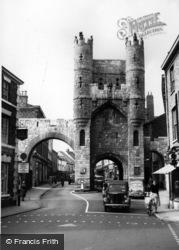 York, Monk Bar c.1960