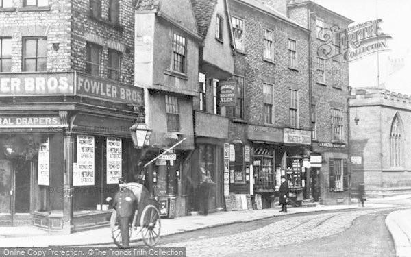 Photo of York, Nessgate c.1890