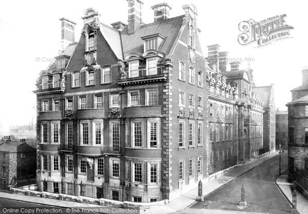 Photo of York, North Eastern Offices 1907
