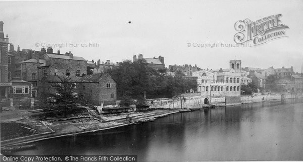 Photo of York, On The River Ouse c.1870