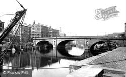 Ouse Bridge c.1885, York