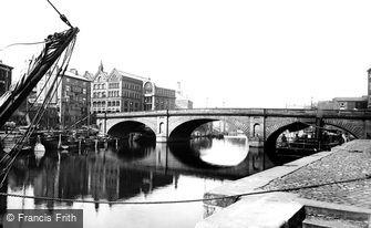 York, Ouse Bridge c1885